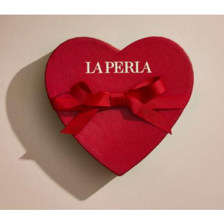 Valentine La Perla  kinkekaart kinkekarbiga 50 € punane