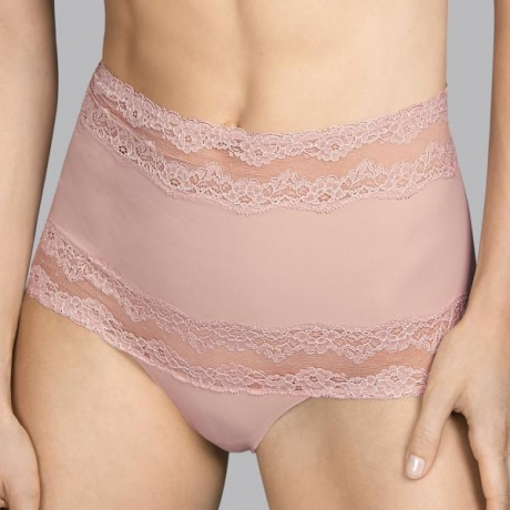 Verbier high waist brief rose
