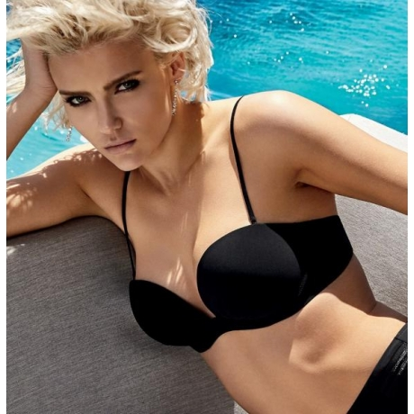 Jet Set balconete bikini set black