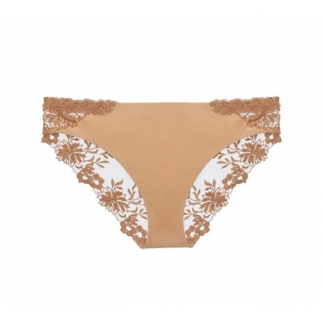 Romantic classical brief beige