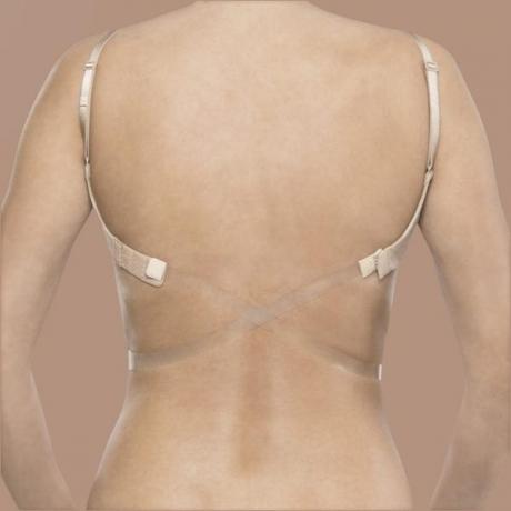 Läbipaistev low back strap
