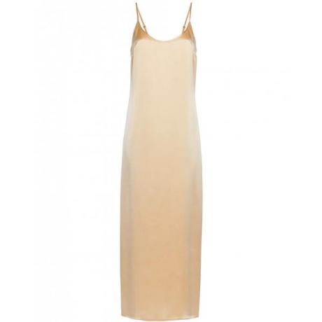 Silk La Perla nightdress long beige
