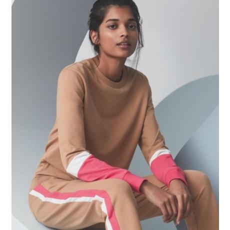 Lounge cotton paita beige