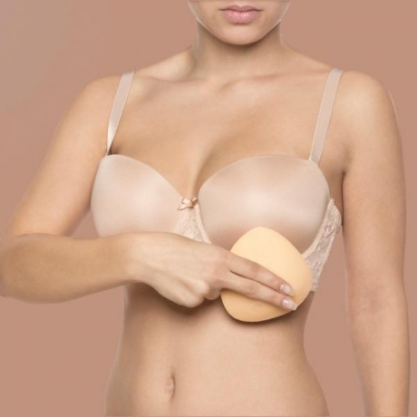 ADHESIVE BIKINI PUSH-UP PADS beige