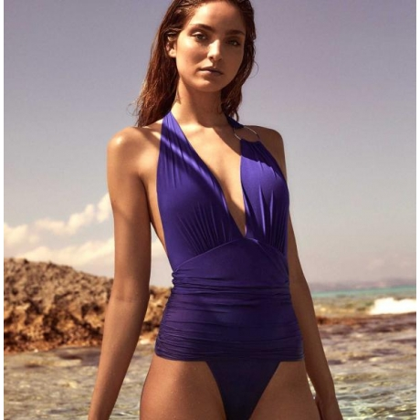 Adichie swimsuit blue