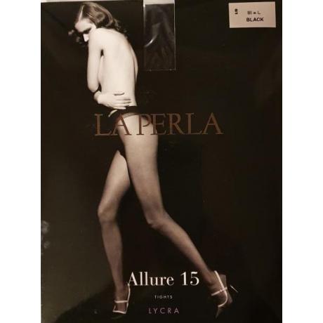 Allure La Perla sukkahousut 15 den musta