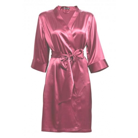 Adeline silkki kimono sorbet vadelman punainen