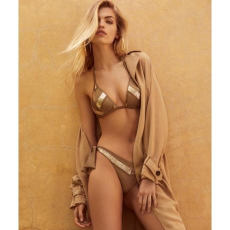 Moon bikini set gold B75