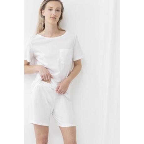 Bio Cotton Bermuda shortsid valge