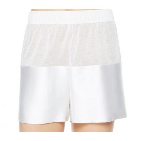 Merveille silkki shortsit valkoinen