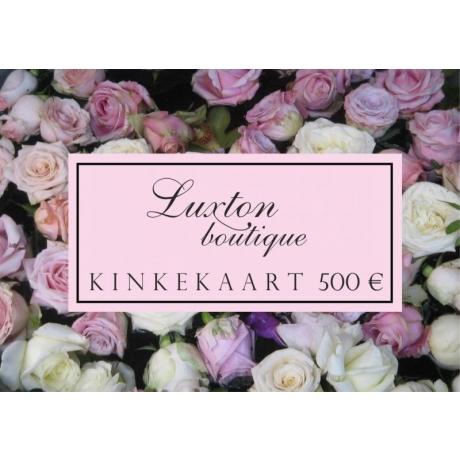 KINKEKAART 500 €