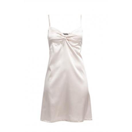 Adrianna silk night dress Ivory