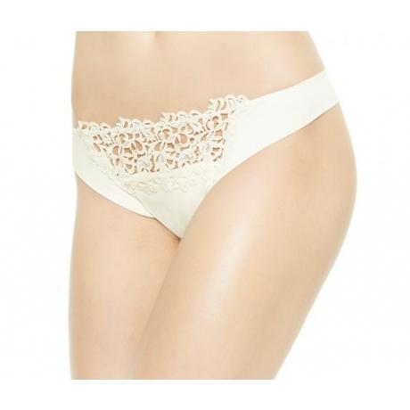 Petit Macrame string brief Ivory