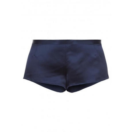 Silk boxers blue