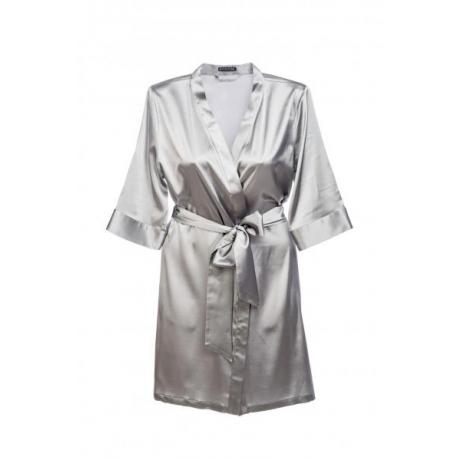 Adeline silkki kimono hopea
