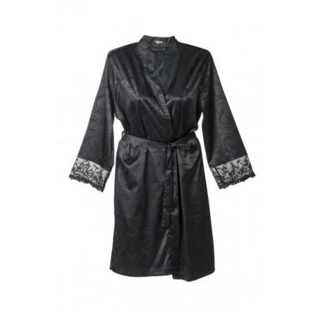 Donna robe black