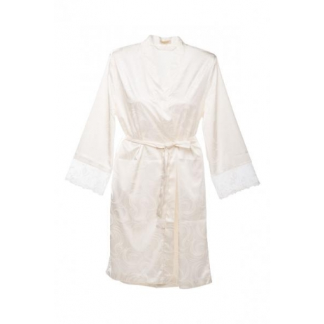 Donna robe ivory