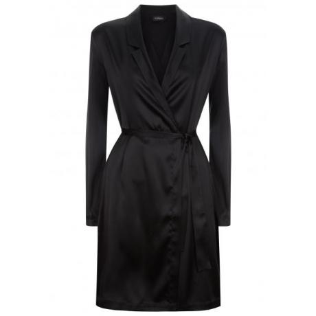 Silk Reward robe black