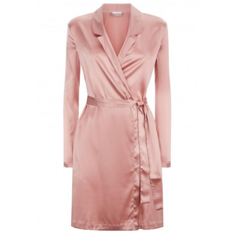 Silk Reward robe pink XS