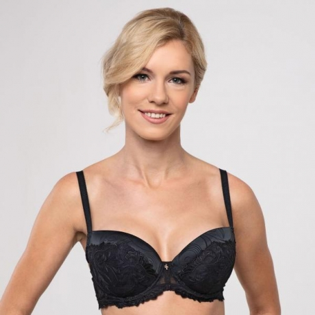 Donna push up bra black