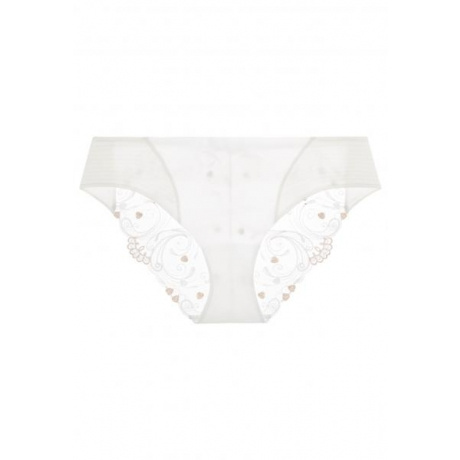 Modernista medio brief ivory