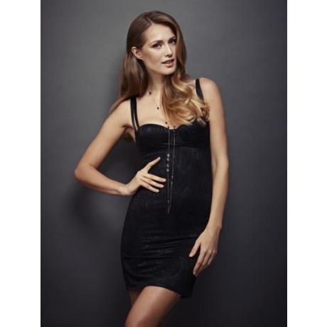Elastick shape dress black SALE