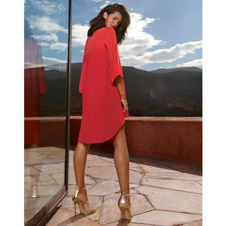 Tuunika kleit Splendeurs punane
