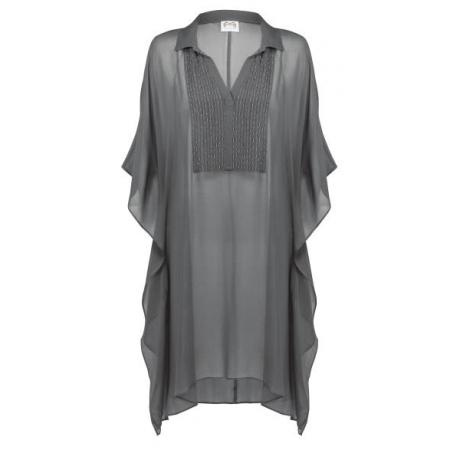 Allure пляжное платье оливкового цвета