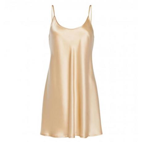 Silk nightdress beige
