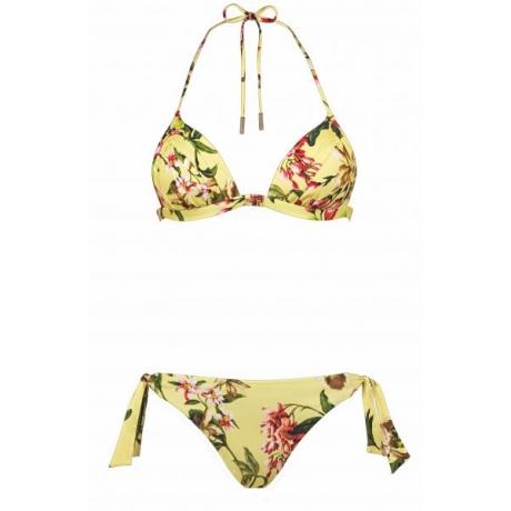 Fleuri bikini seti keltainen