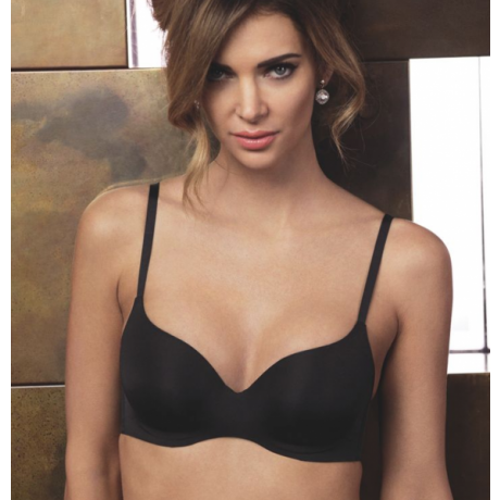 Classic W push up bra black