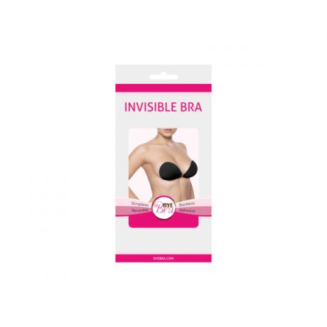 Invisible silicon bra musta