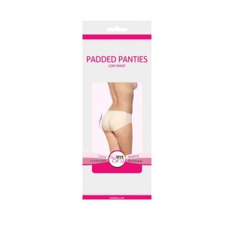 Padded panties Low waist nude