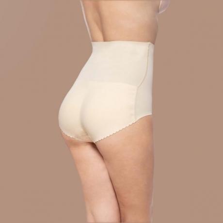 Padded panties high waist nude