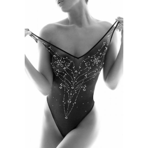 Desiree sensual strass body black