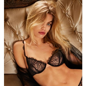 LOVE underwired bra black