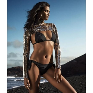 Musha bikini rintaliivi musta
