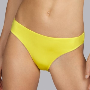 Boheme bikiini klassikalised püksid kollane