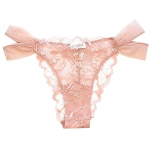 Valentine  La Perla brief rose