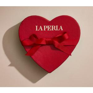 Valentine La Perla kinkekaart kinkekarbiga 100 € punane