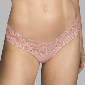 Verbier string brief rose