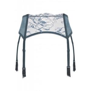 Brigitta La Perla  suspender belt blue