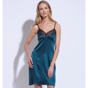 Athena silk lace silp dress roheline