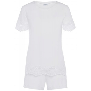 Tres Souple  La Perla lace pajama white
