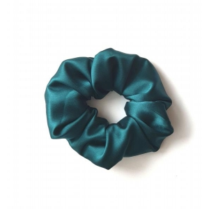 Silk hair Scrunchie siidine juuste kumm roheline