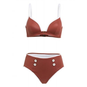 LODGE bikini suit redwood