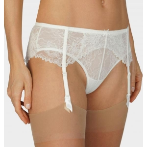Fabulous suspender belt ivory