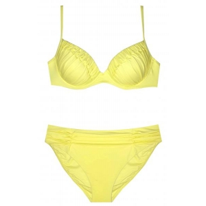Dance push up bikini set yellow