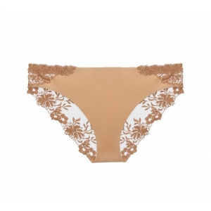Romantic Zephyr La Perla classical brief beige