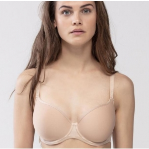 Joanna spacer T-shirt bra full cup beige